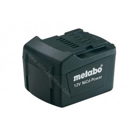 Batterie pour Metabo 12 V, 1,7 AH, NICD-POWER