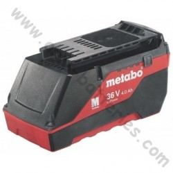 Batterie Metabo 36 volt / 4.0 Ah LI-POWER COMPACT