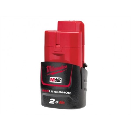 Batterie MILWAUKEE M12B2 12V 2Ah Li-Ion
