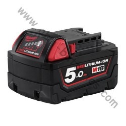 Batterie MILWAUKEE M18 B5 18V 5Ah Li-Ion