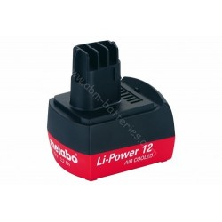 Batterie pour METABO 12V 2,2Ah Li-Power