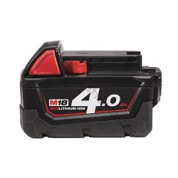 Batterie MILWAUKEE M18B4 18V 4.0Ah Li-Ion