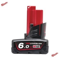 Batterie MILWAUKEE M12B6 12V 6.0Ah Li-Ion